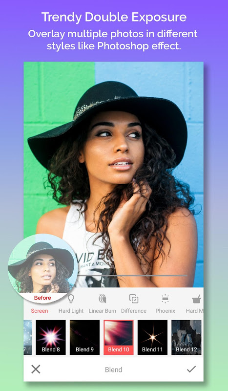 Android Snap Photo Editor - Collage Maker & Image Editor Screen 2