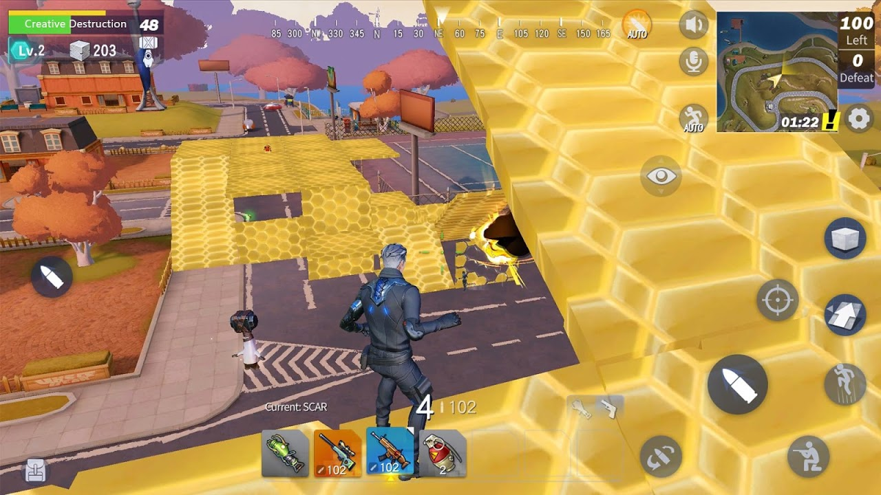 Android Creative Destruction Screen 8