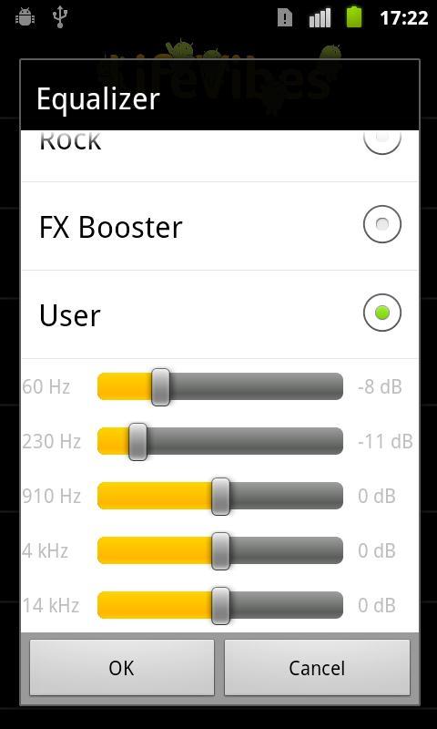 MusicFX 1.6 Screen 1