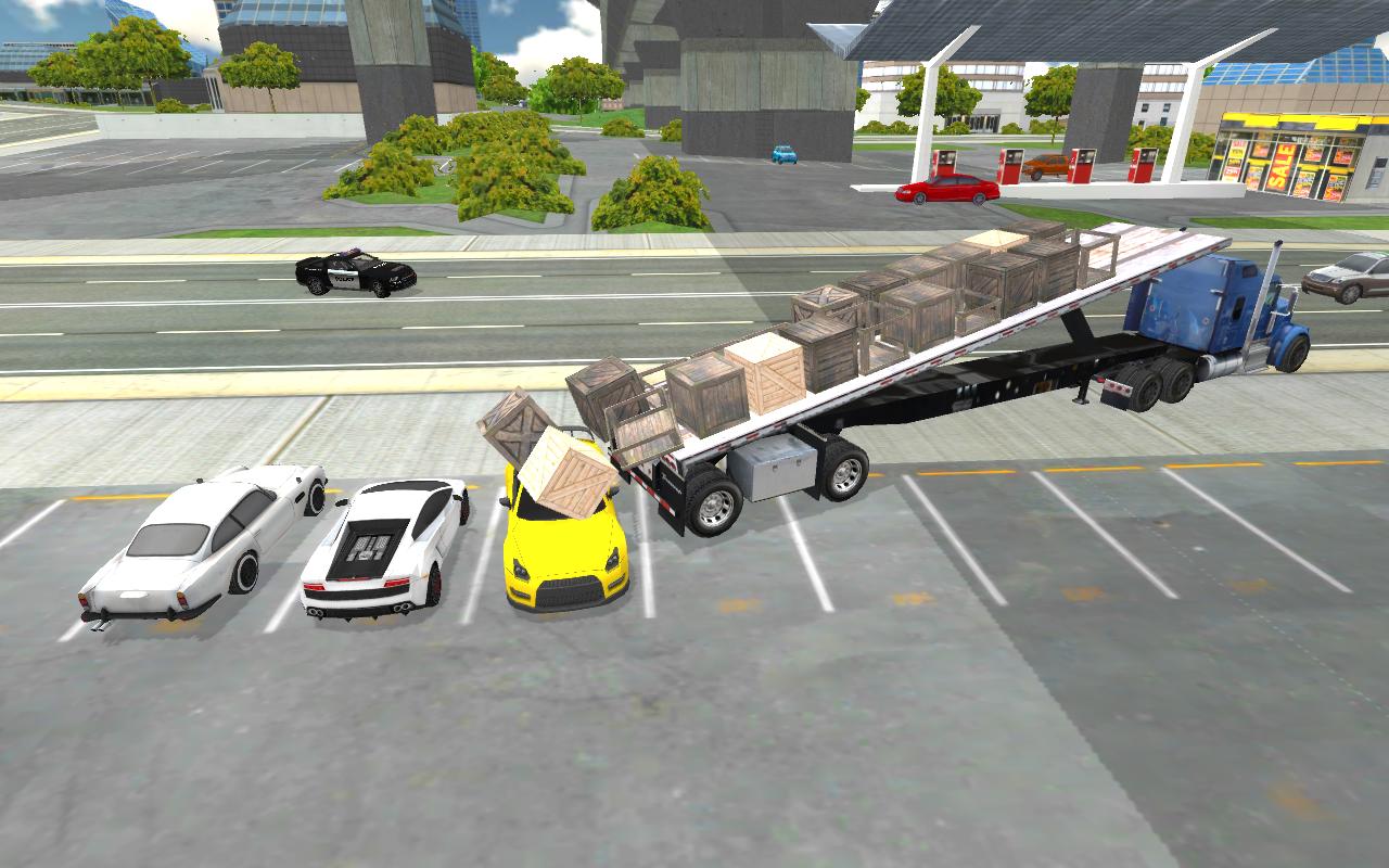 Android Truck Driver Simulator Pro Screen 3