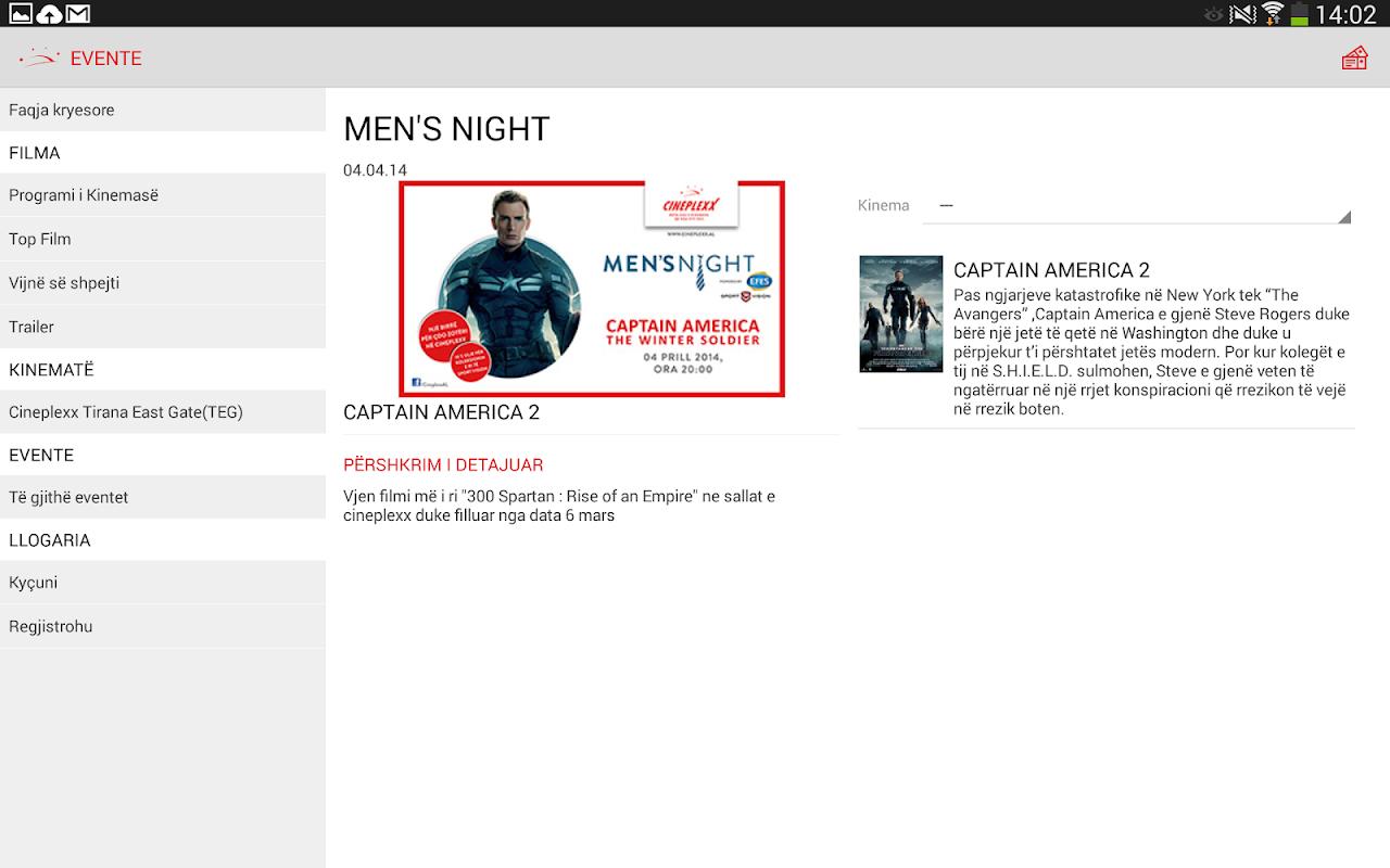 Cineplexx Shqipëria 3.9.3 Screen 9