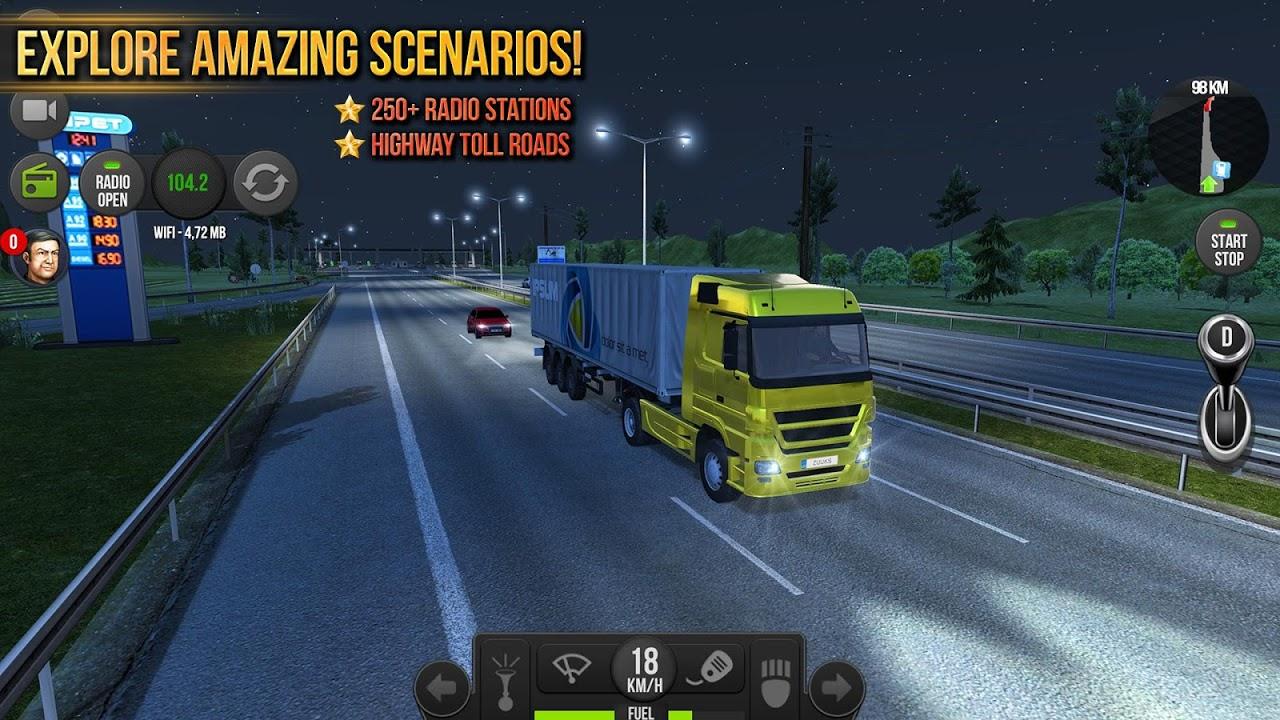 Android Truck Simulator 2018 : Europe Screen 1