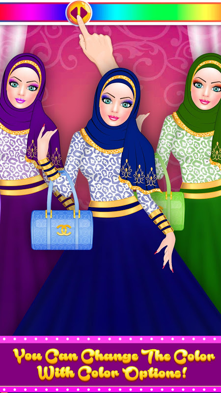 Hijab Fashion Doll Dress Up 1.2 Screen 9