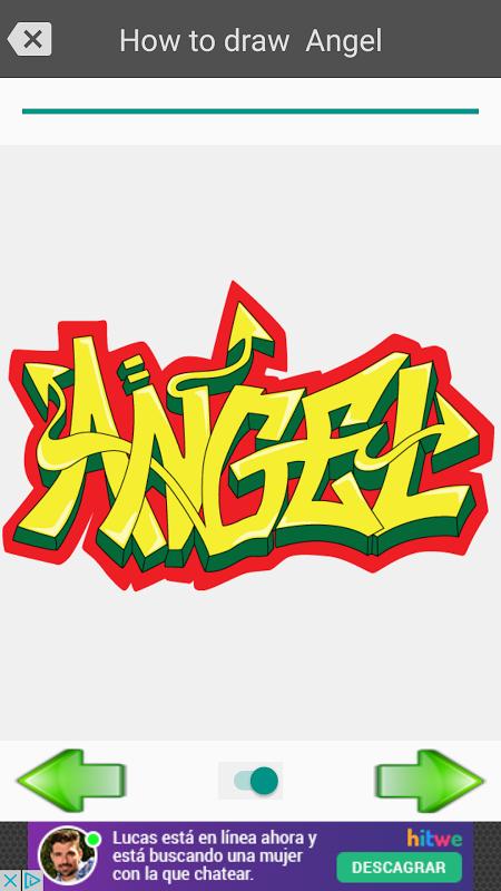 Android Draw graffiti 3D Screen 9