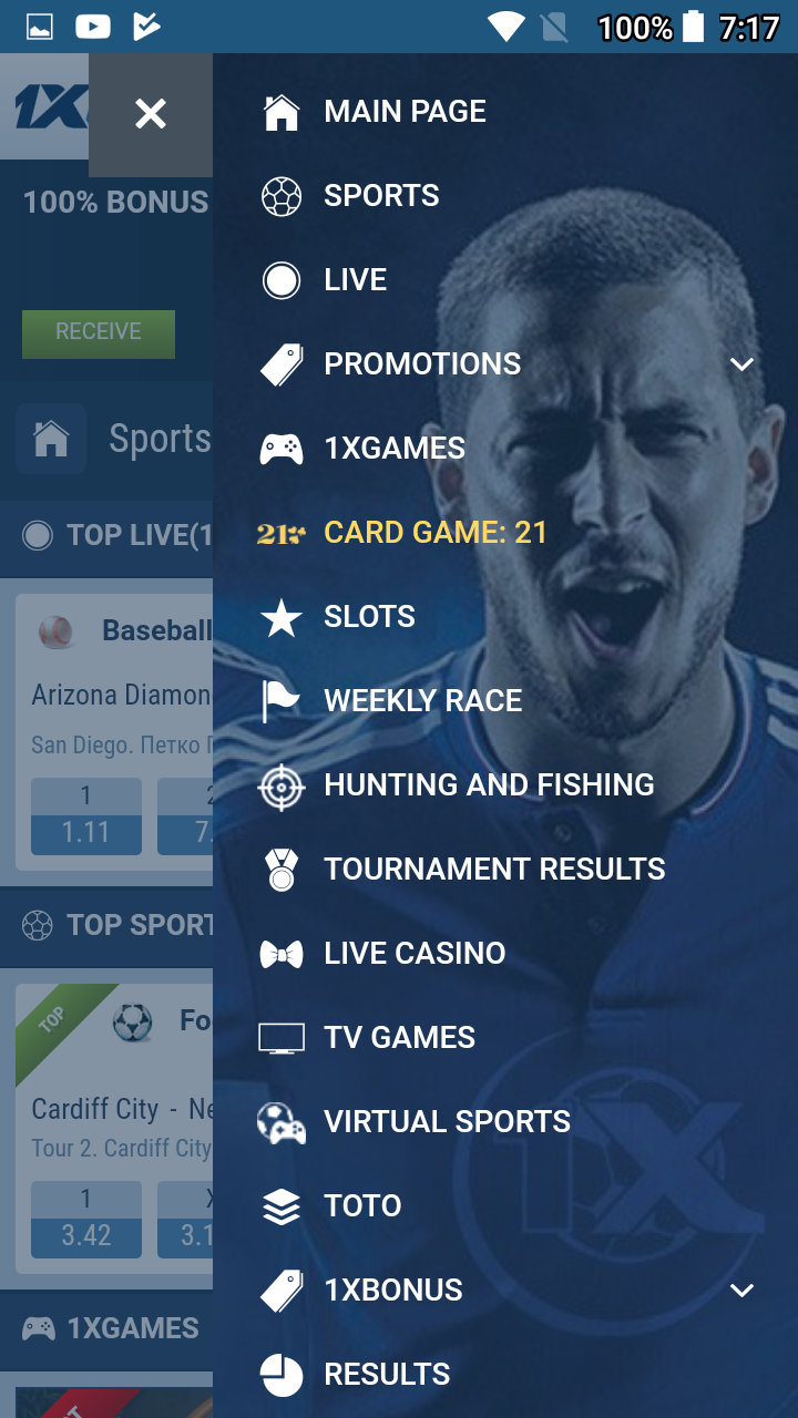 1xBet 8 4 5 APK Download by | Android APK