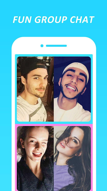 Android HOLLA Live: Meet New People via Random Video Chat Screen 1