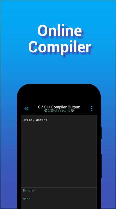 I<code> Go - Code Editor / IDE / Online Compiler 2.05 Screen 6