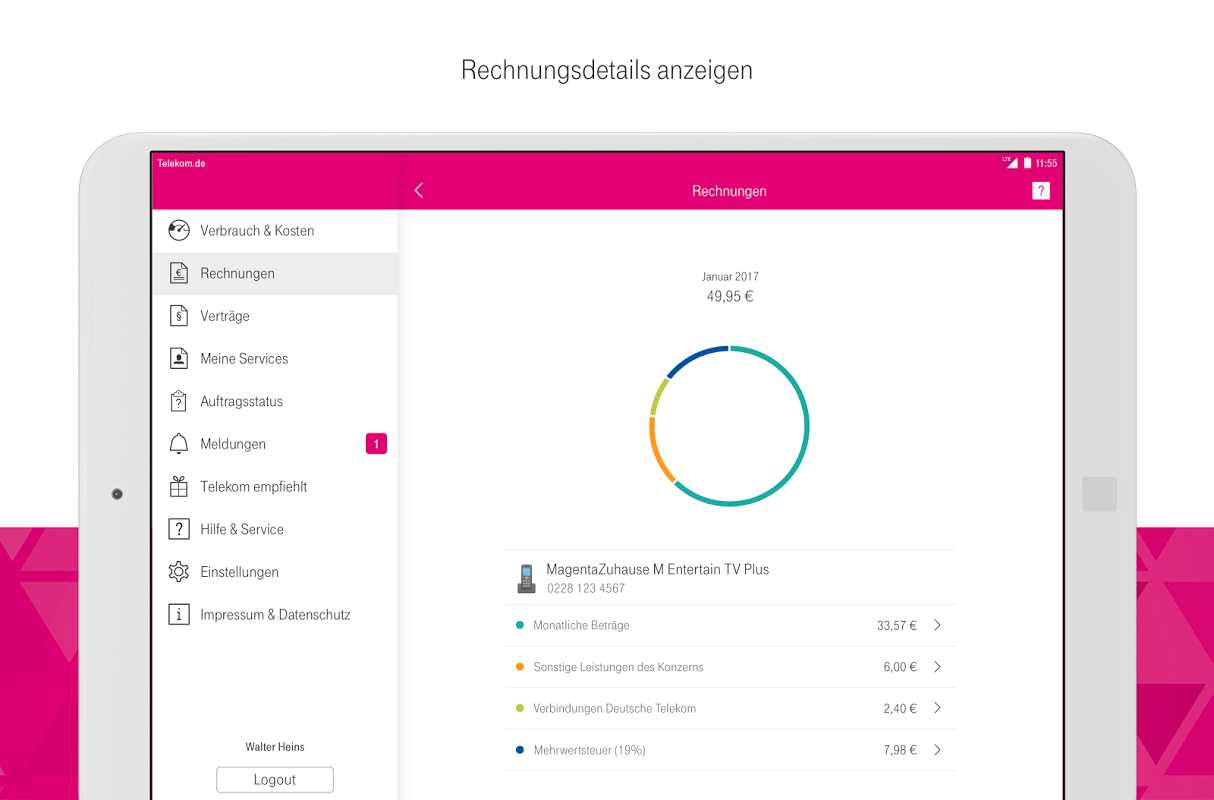 Android MagentaSERVICE Screen 8