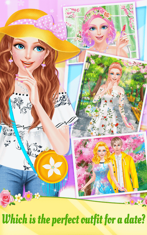 Android Spring Date Flower Spa & Salon Screen 13