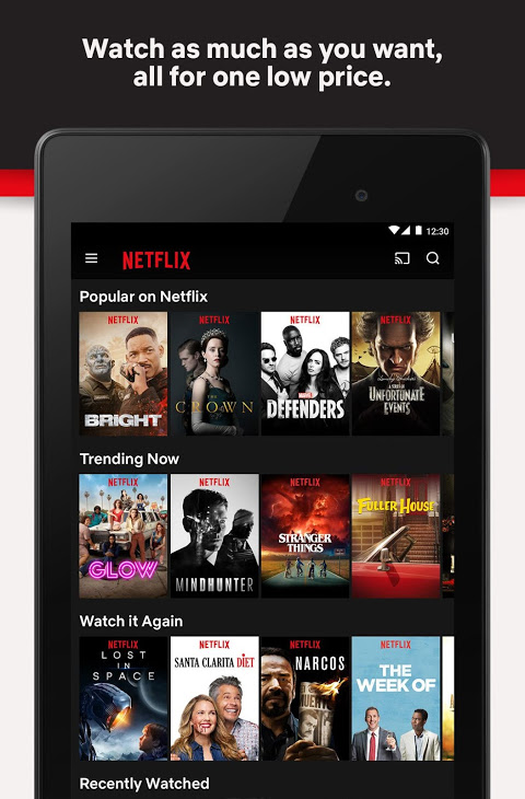 Netflix 4.16.1 build 200147 Screen 4