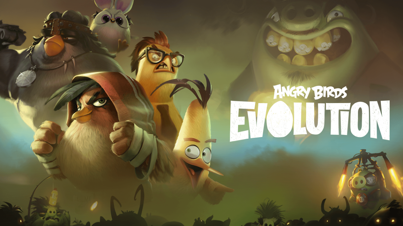Android Angry Birds Evolution Screen 1
