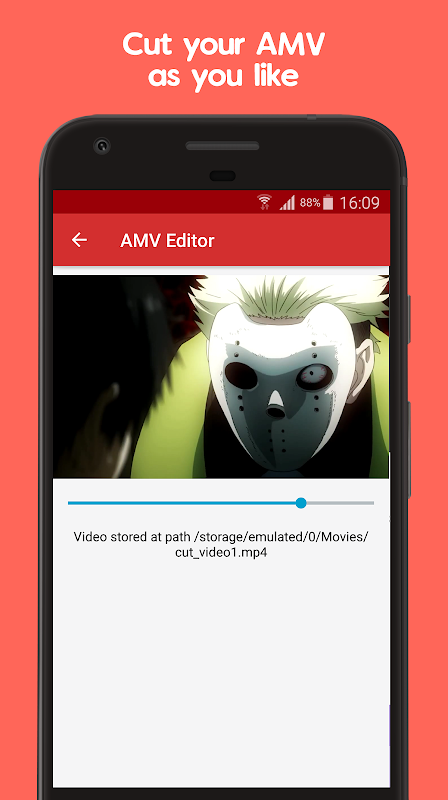 Android Anime Music Video Editor - AMV Editor Screen 2