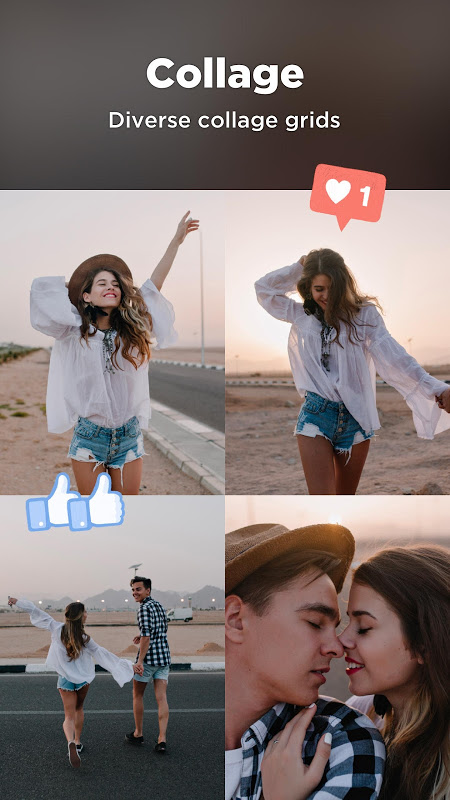 Android Candy Camera - selfie, beauty camera, photo editor Screen 3