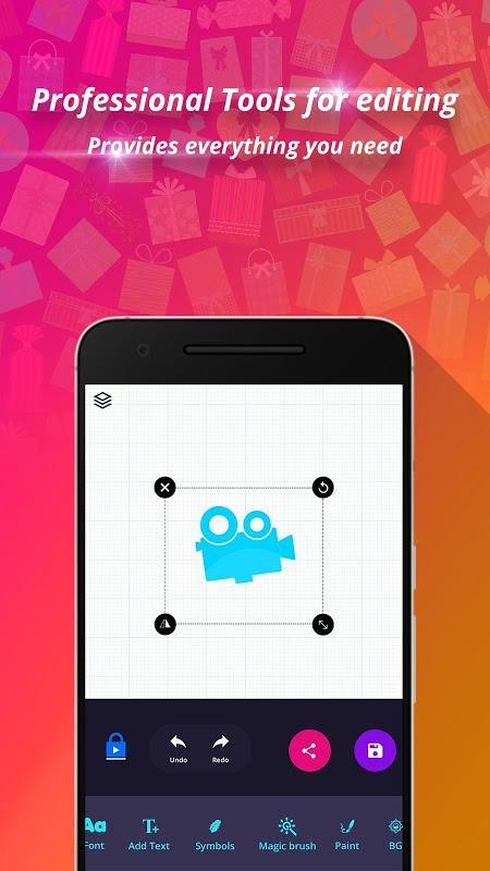Android Logo Maker & Logo Design Generator Screen 4