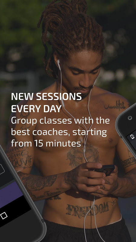 Android BTFIT - Personal Trainer Online, Fitness and Yoga Screen 8