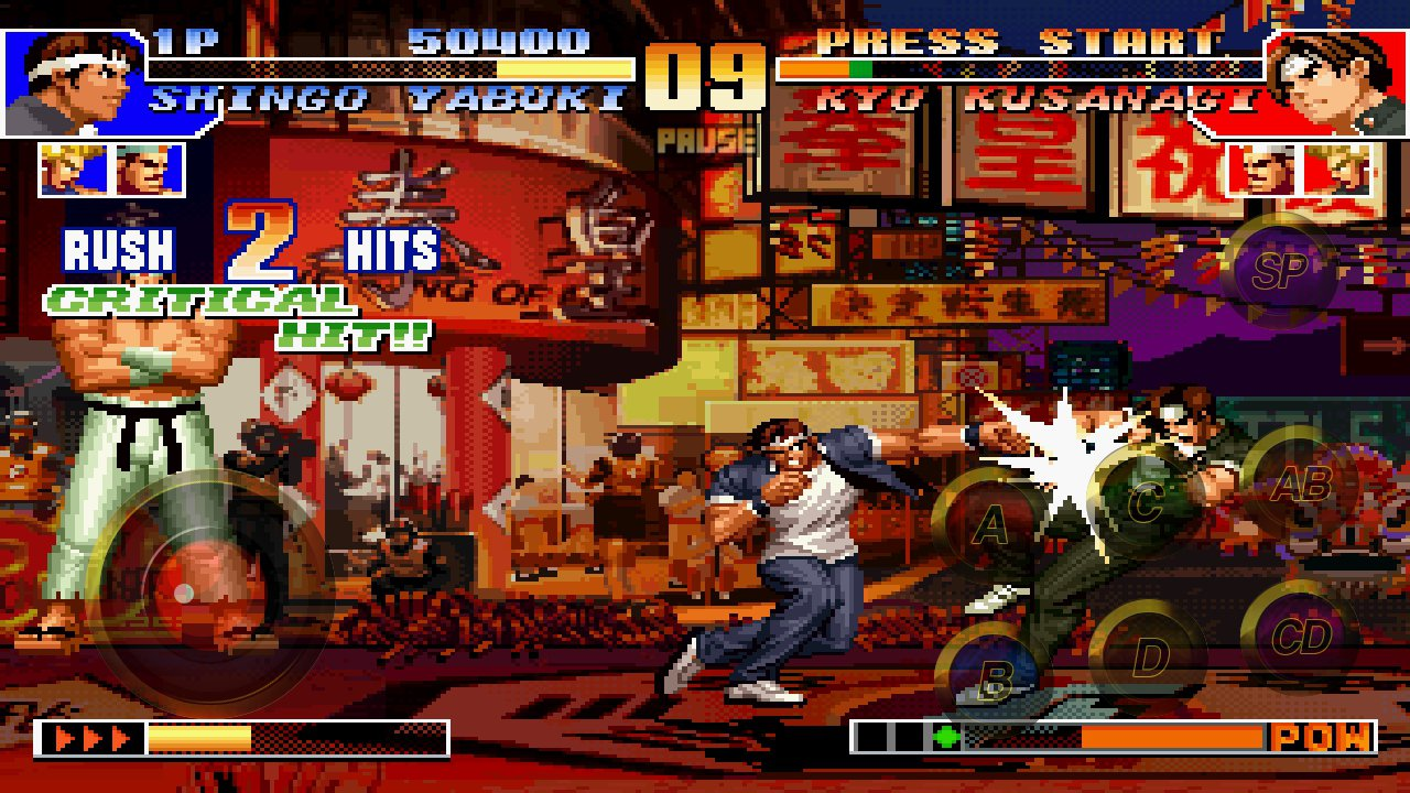 Cheats King of Fighters 97 Mobile 1.0 Screen 2