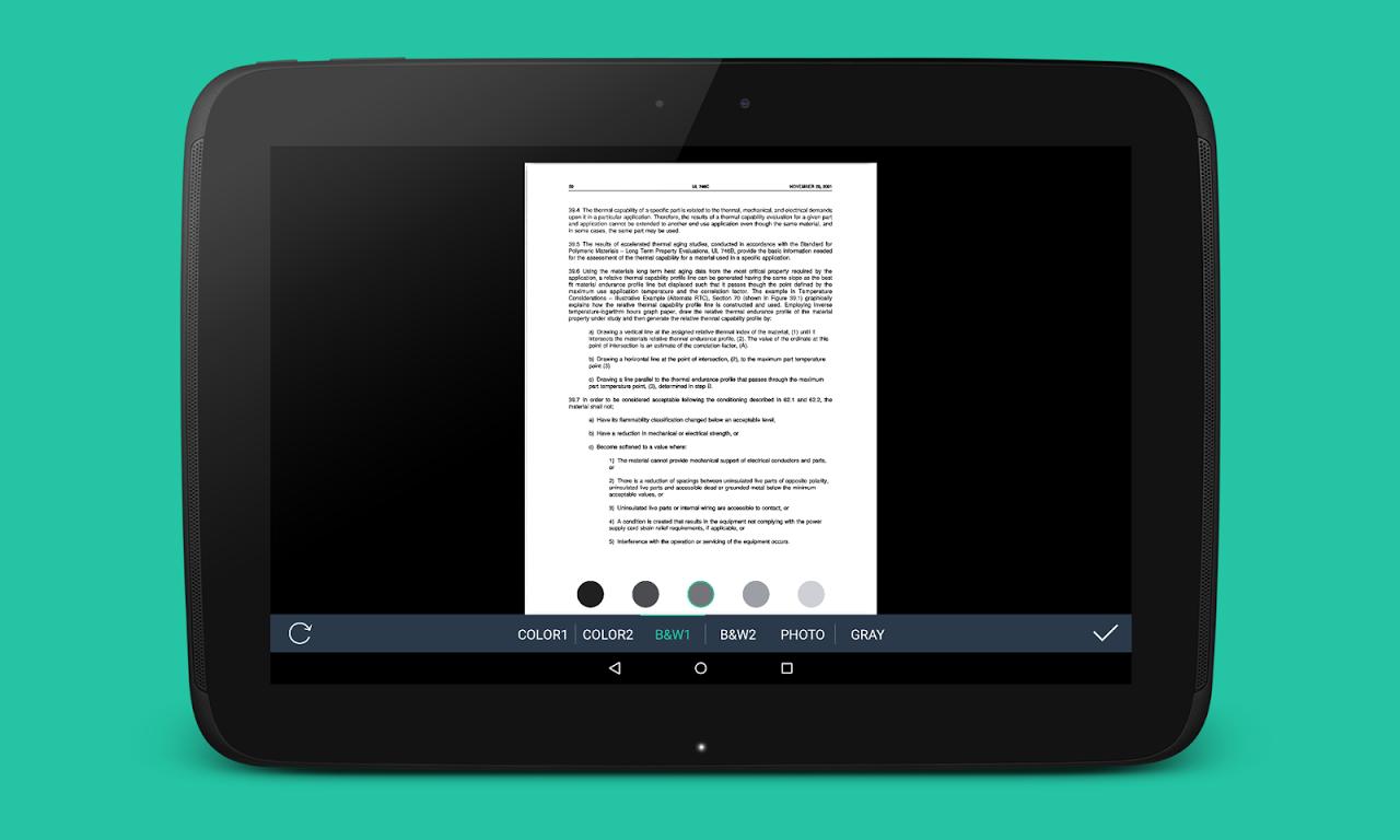 Simple Scan - PDF Scanner App 1.3.22 Screen 10