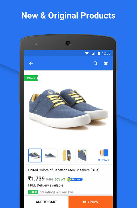 Android Flipkart Online Shopping Screen 2