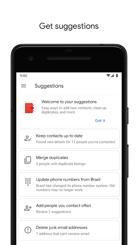 Contacts 3.5.51.247103087 Screen 4