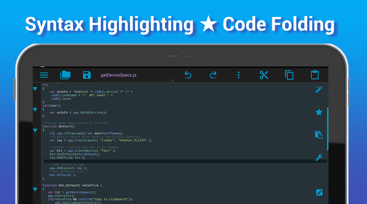 I<code> Go - Code Editor / IDE / Online Compiler 2.05 Screen 8