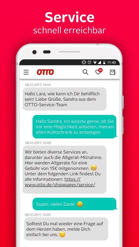 Android OTTO - Shopping für Mode & Wohnen Screen 4