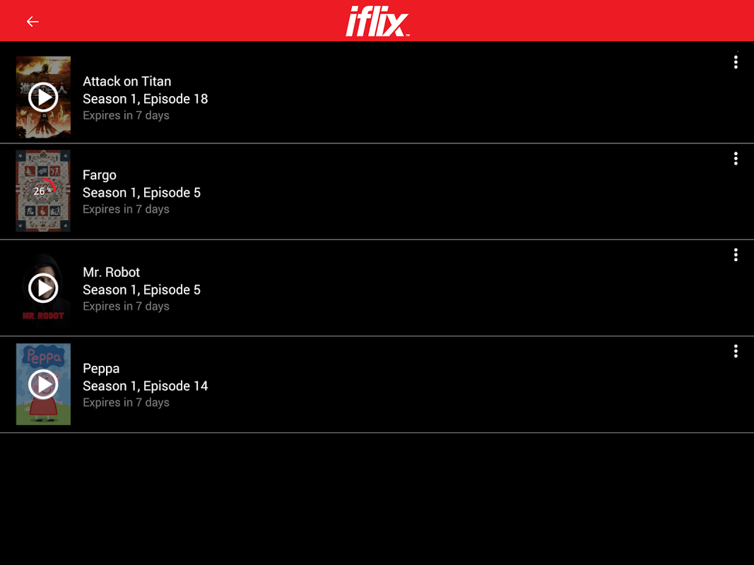 iflix 2.18.0-2982 Screen 4
