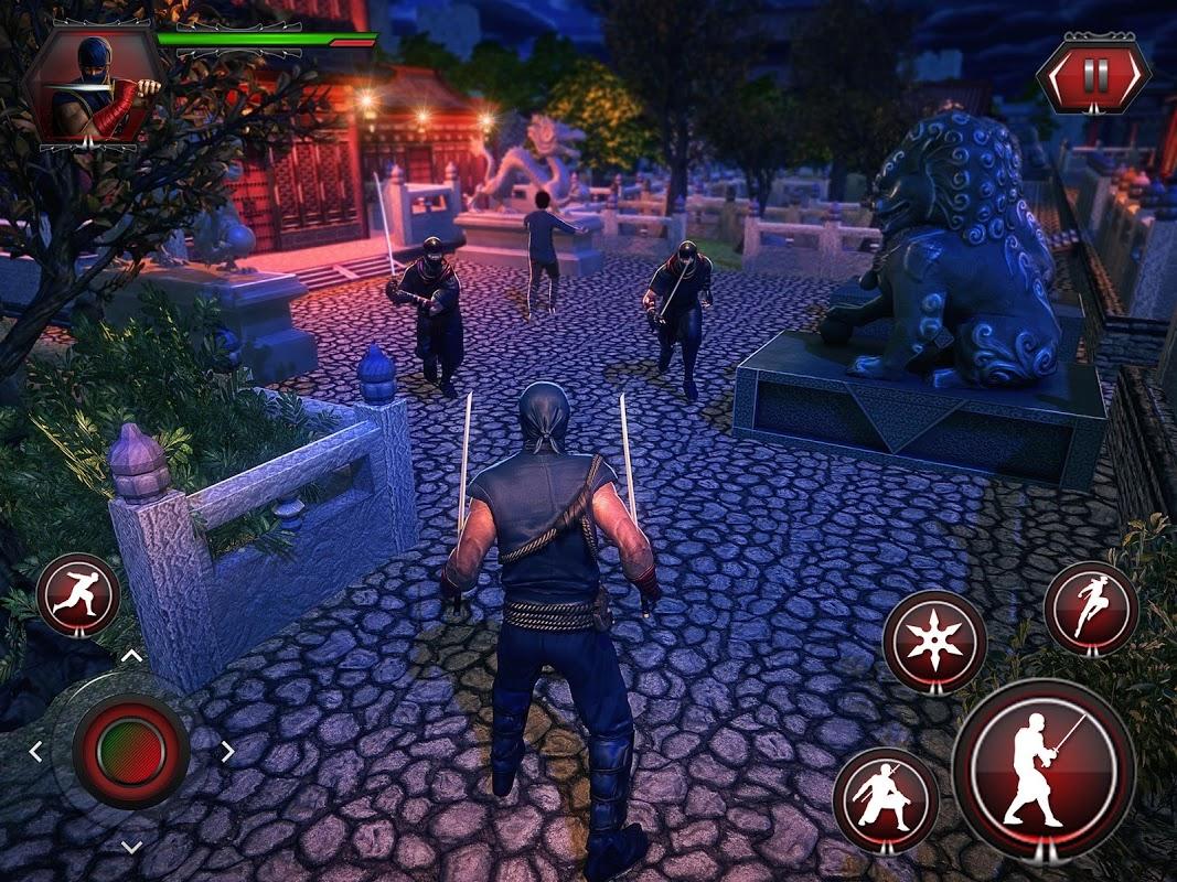 Android Ninja Fighting Spree Screen 8