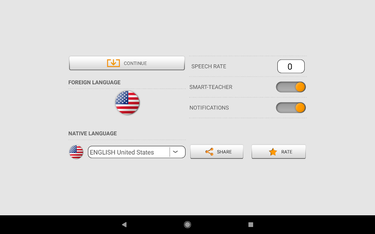 Learn American English words with Smart-Teacher 1.2.7 Screen 16