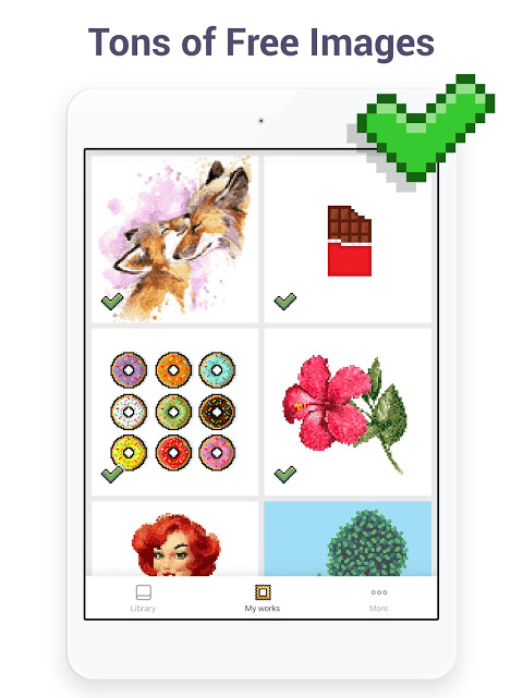 Pixel Art - Colour by Number Book 2.1.2 Screen 7