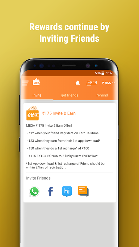 Android Earn Talktime - Get Recharges, Vouchers, & more! Screen 4