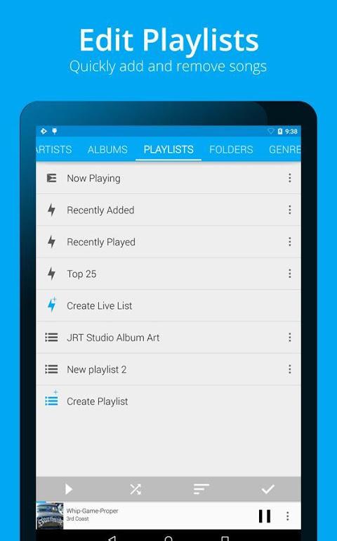 Android Rocket Player Premium Audio Screen 19