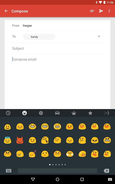 Android Swype Keyboard Screen 12