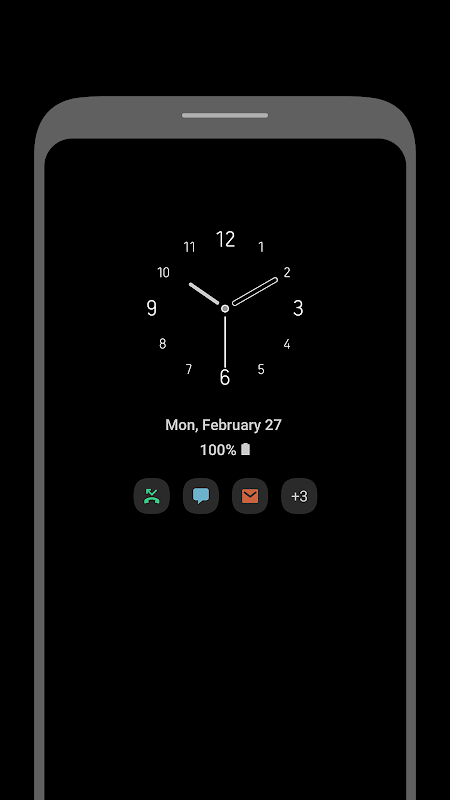 Android [Samsung] Always On Display Screen 4