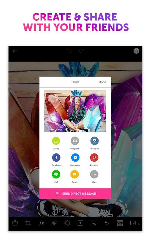 Android PicsArt Photo Studio: Collage Maker & Pic Editor Screen 3