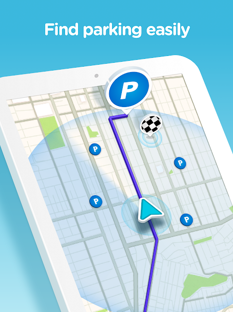 Waze - GPS, Maps, Traffic Alerts & Sat Nav 4.45.0.0 Screen 8