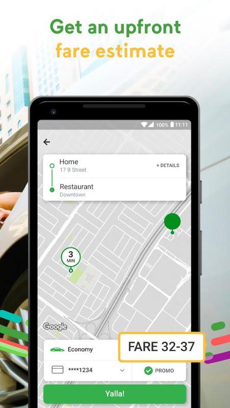Android Careem - Car Booking App Screen 2