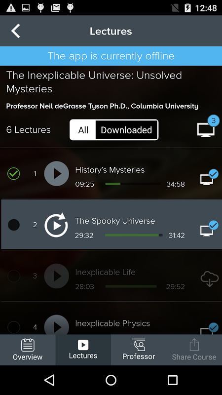 The Great Courses 5.2.3 Screen 2