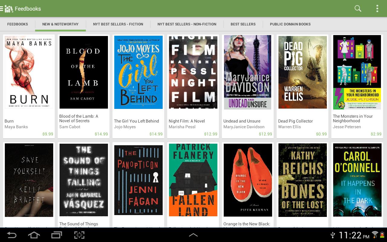 Aldiko Book Reader 3.1.3 Screen 3