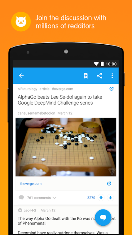 Reddit: The Official App 2.17.0 Screen 3