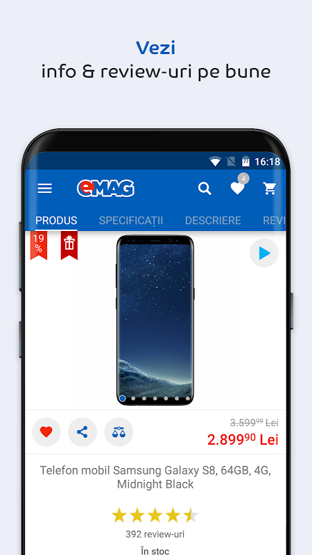 Android eMAG.ro Screen 6