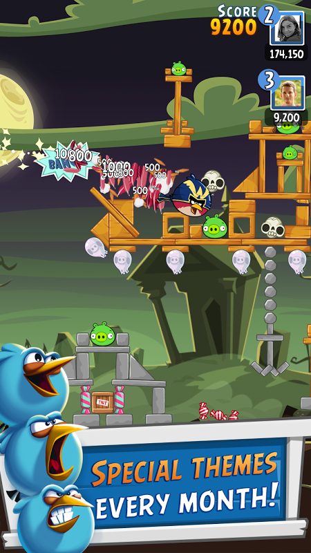 Android Angry Birds Friends Screen 3