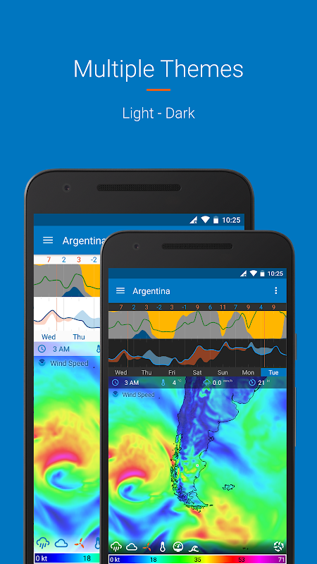 Android Flowx: Weather Map Forecast Screen 4