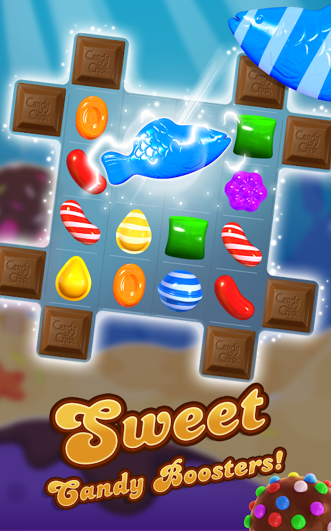 Android Candy Crush Saga Screen 7