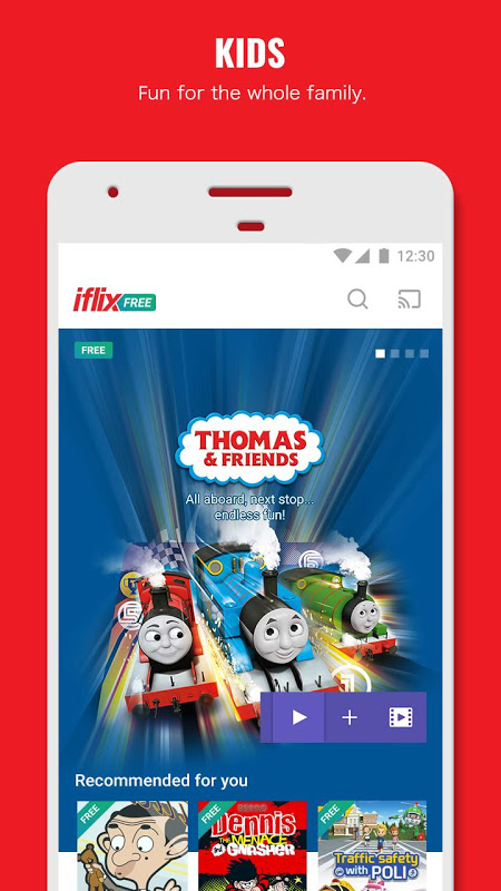 Android iflix Screen 7