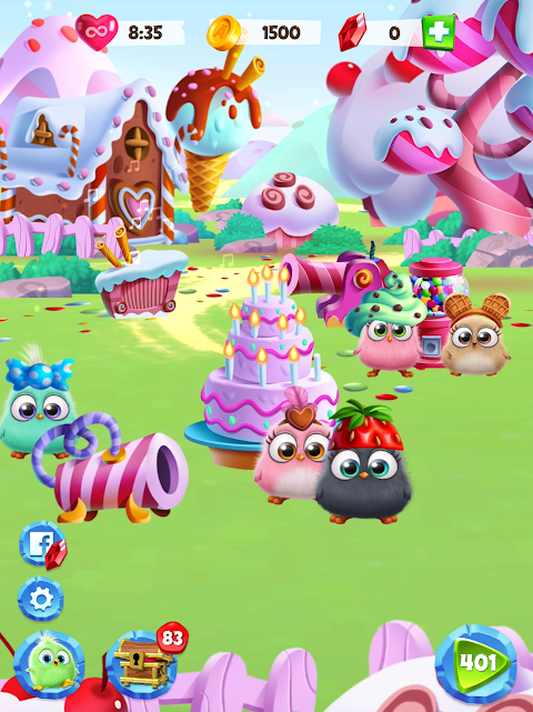 Android Angry Birds Match Screen 13