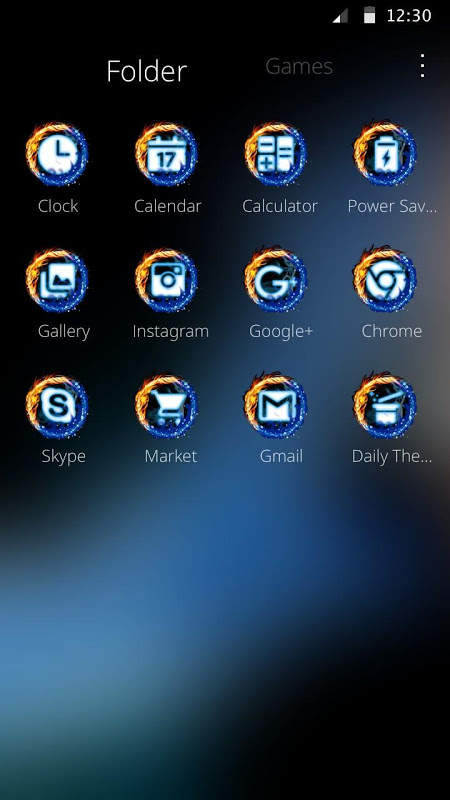 Fire and Ice Love  Theme for CM Launcher APKs | Android APK