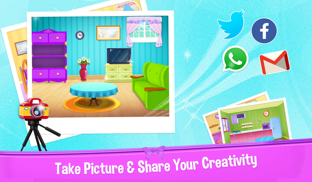 Android Dream Home Mansion Decoration Decorate Your World Screen 2