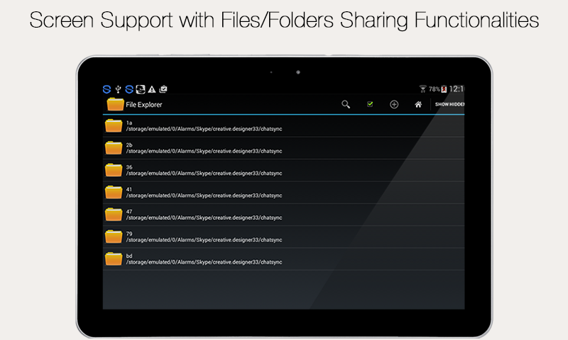 File Explorer and Manager 1.1 Screen 11