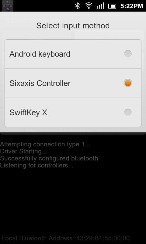 sixaxis controller 0.6.5 apk