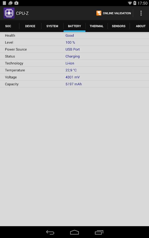 CPU-Z 1.32 Screen 14
